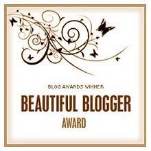 Beautiful Blogger Award nomination